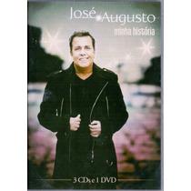 Dvd + 3 Cds José Augusto - Minha História - Novo***