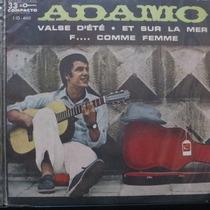 Adamo - Valse D´été - Et Sur La Mer - F Compacto Vinil Raro