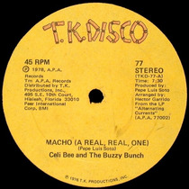 Celi Bee Macho (a Real Real One) 12 Mix Importado 1978 Disco