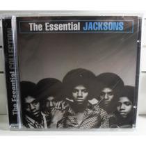 Funk Black Soul Romântico Cd The Jacksons The Essential Raro