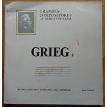 Grandes Compositores Da Música Editora Abril Lp Grieg