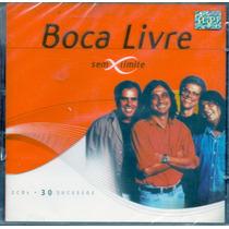 Cd Duplo Boca Livre - Sem Limites - Novo***