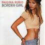 Cd-paulina Rubio-border Girl-importado Em Otimo Estado