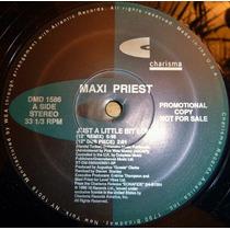 Maxi Priest Just A Little Bit Longer 12