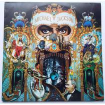 Lp Michael Jackson - Dangerous - Capa E Disco Duplo Encarte