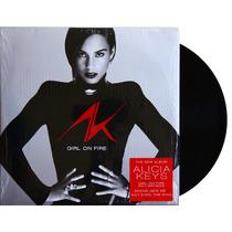 Lp - Vinil - Alicia Keys - Girl On Fire - Novo - Lacrado
