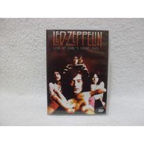 Dvd Original Led Zeppelin- Live At Earl