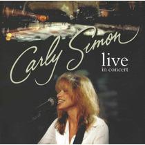Cd Carly Simon Live In Concert Original