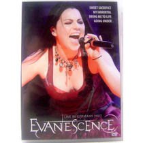 Dvd - Evanescence - Live In Germany 2007