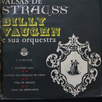 Strauss - Billy Vaughn - Danubio Azul - Compacto Vinil Raro