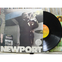 Newport Jazz Festival Live Lp Cbs Jazz Blues Album Duplo