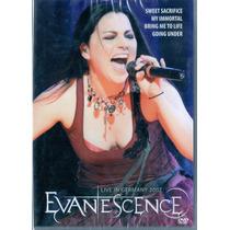 Dvd Evanescence - Live In Germany 2007 - Novo***