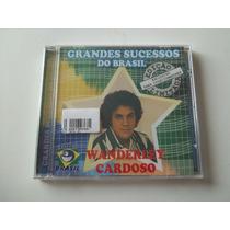 Wanderley Cardoso - Cd Grandes Sucessos Do Brasil - Lacrado!