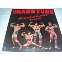Grand Funk Vinil Importado-pink Floyd-rush-led Zeppelin-kiss