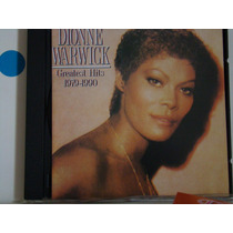 Cd - Dionne Warwick - Greatest Hits - 1979-1990