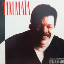 Lp - Tim Maia - Leva - Bem - Vida - Vinil Raro
