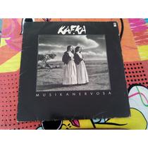 Lp Kafka - Musikanervosa - Com Encarte - 1987 - Disco Vinil