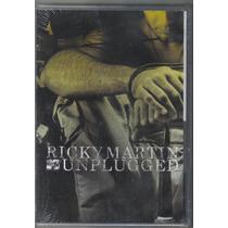 Ricky Martin - Mtv Unplugged - Dvd Novo