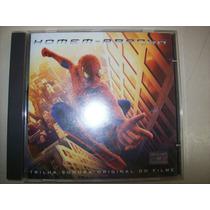 Cd - O Homem-aranha - Nacional - Soundtrack - Usado