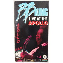 Vhs - B B King - Live At The Apollo - Importado