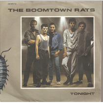 Compacto The Boomtown Rats - Tonight 45 Rpm Jukebox Mercury