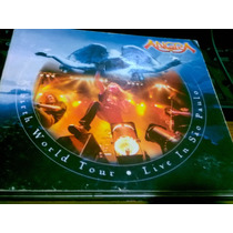 Angra Rebirth World Tour Live In Sp 2 Cds