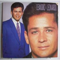 Vinil Lp Leandro & Leonardo Vol.8 - Com Encarte