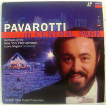 Ld - Pavarotti - In Central Park