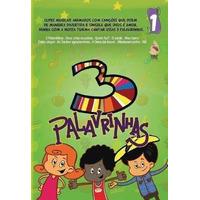 Dvd 3 Palavrinhas - Volume 1 E Volume 2 - Originais