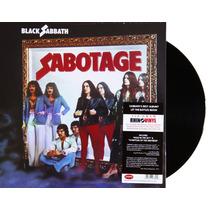 Lp Vinil Black Sabbath Sabotage Novo Importado