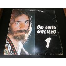 Lp Padre Zezinho - Um Certo Galileu, Disco Vinil 1975, Raro