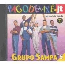 Cd Grupo Sampa - Pagode E Axé No Jt Lacrado Frete Gratis