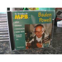 Cd Os Grandes Da Mpb - Baden Powell ( Igual Novo )