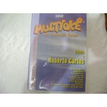 Dvd Cdvd Multioke O Karaoke Total Tributo A Roberto Carlos