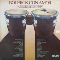 Lp - Santo Morales - 42 Boleros Inesquecíveis Bo Vinil Raro