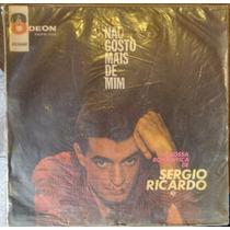 Sergio Ricardo - Não Gosto Mais De Mim Lp
