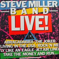 Lp - Steve Miller Band Live - Vinil Raro