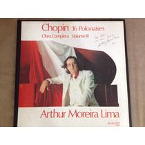 Arthur Moreira Lima Box 3 Lps Chopin 16 Polonaises Completa