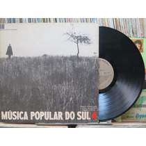 Musica Popular Do Sul 4 Danças Fandangos Lp Marcus Pereira