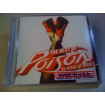 Poison The Best Of Poison 20 Yea..(cd Lacrado Fabrica) U.s.a