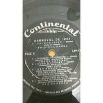 Carnaval De 1957 Lp Continental 10 Pol Marchinhas Raro