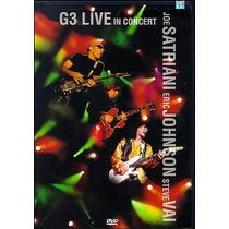 Dvd G3 Live In Concert (1996) - Novo Lacrado Original