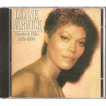 Cd - Mg10 - Dionne Warwick - Greatest Hits 1979-1990