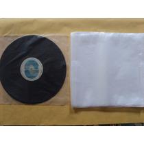 100 Plásticos Internos P/ Disco De Vinil Lp 12 - 31x31x0,4