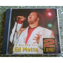 Cd Ed Motta - 2 É Demais.