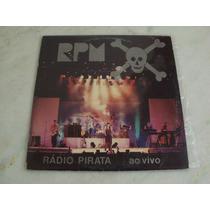Lp Rpm - 1986 Rádio Pirata Ao Vivo C/ Encarte