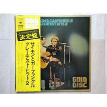 Simon Garfunkel Greatest Hits 2 Gold Disc Japão Exc Estado