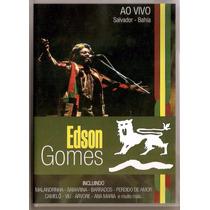 Dvd Edson Gomes - Ao Vivo Em Salvador (original E Lacrado)