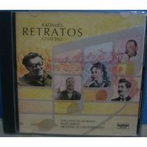 Cd Radamés Gnattali - Retratos - Cd Nacional