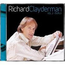 Cd Richard Clayderman Vol.2 Duplo Produto Lacrado